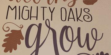 Oak Sign